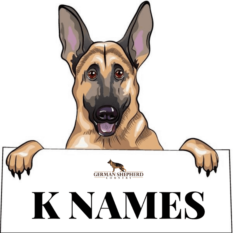 dog names that start with k