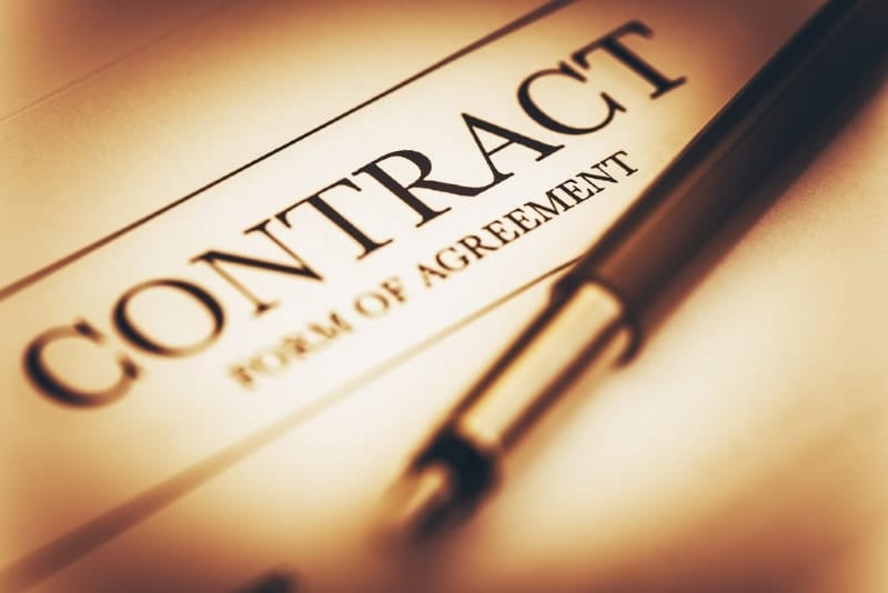 dog breeder contract